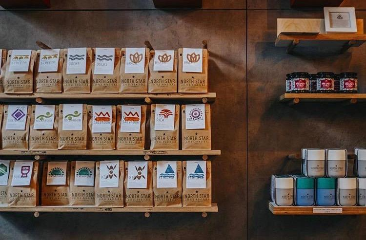 support local coffee shops - north star coffee roasters